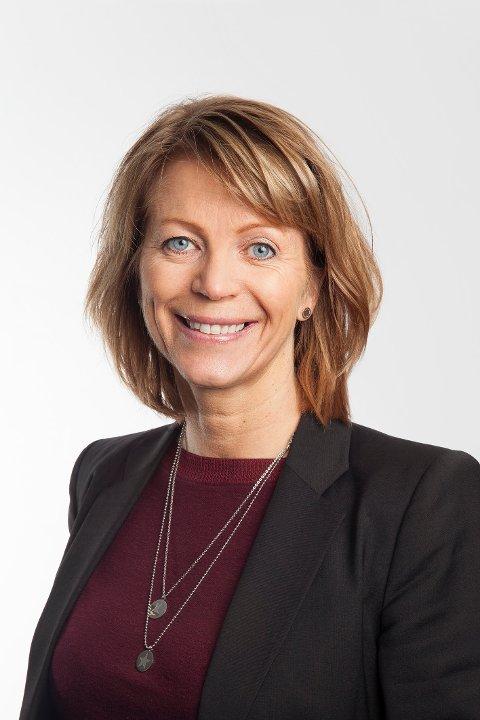 Prosjektdirektør Helle Jensen.