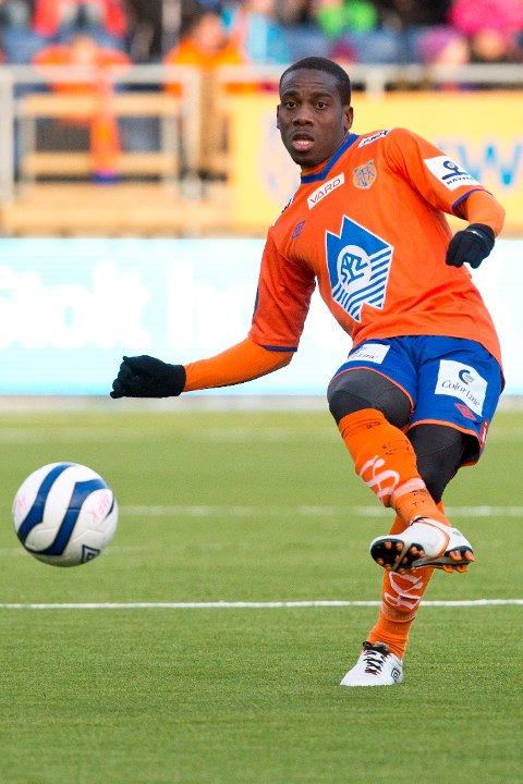 Aalesunds Tramaine Stewart spilte for Aalesund fra 2012 til 2014.