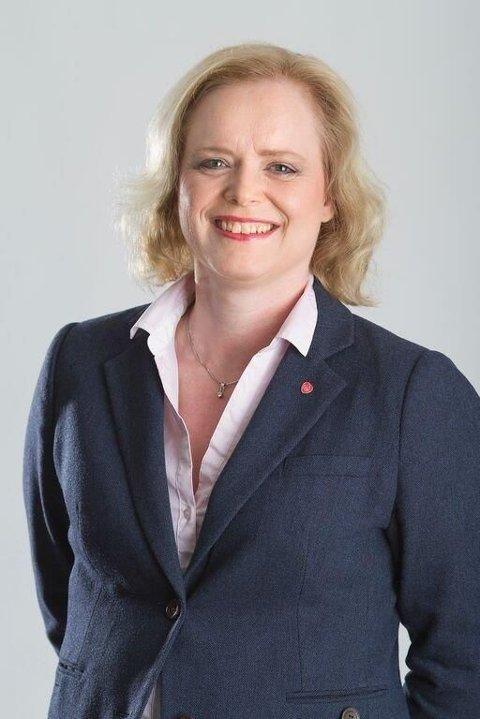FORSLAG: Fyrverkeri bør erstattes av lasershow, mener fylkespolitiker Liselotte Aune Lee (Ap).