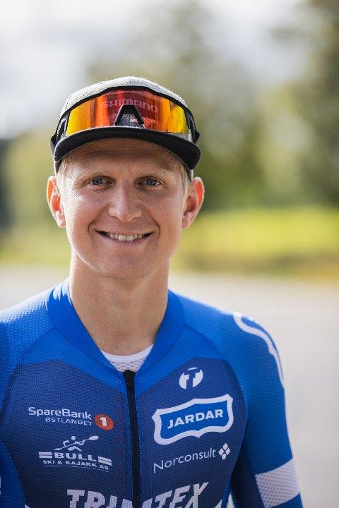 NY REKORD? Toppidrettsutøver Hans Christian Tungesvik (28) suser opp og ned på Bispeveien søndag.