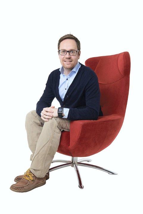 Økonomiforsker Lars Hovdan Molden. Nord Universitet.
