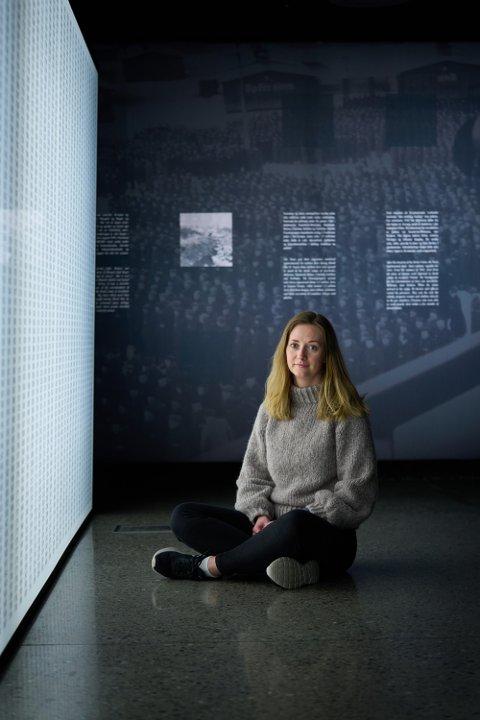 MINNEMARKERING: 22. juli skal Oda Okkenhaug og familien delta på minnemarkeringen i Levanger.