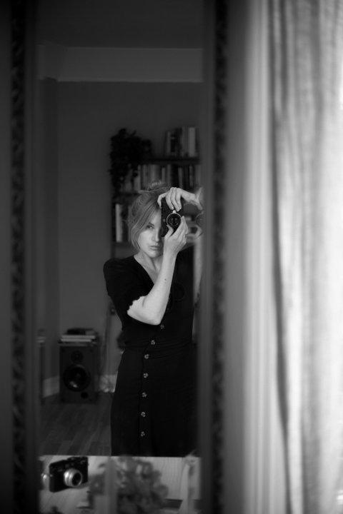 SELVPORTRETT: Marthe A. Vannebo.
