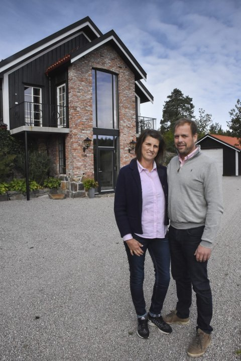 Ailin og Conrad Guttormsen: Politikere i teknikk, plan og naturkomiteen støttet tirsdag opp om parets delingssøknad. Arkivfoto