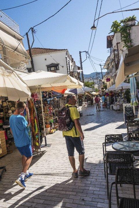 IDYLL: Til tross for seksti år med turisme, bevarer Thassos mange av kvalitetene som trakk folk hit i utgangspunktet.