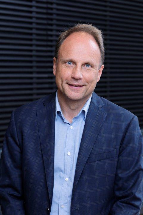 OFFENSIV: Svein Sundby, direktør i JM Norge Region Syd, forteller om en kraftig satsing i Vestfold.