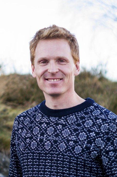 I panelet: Lærer og prosjektleder Jon Gløer Gløersen.