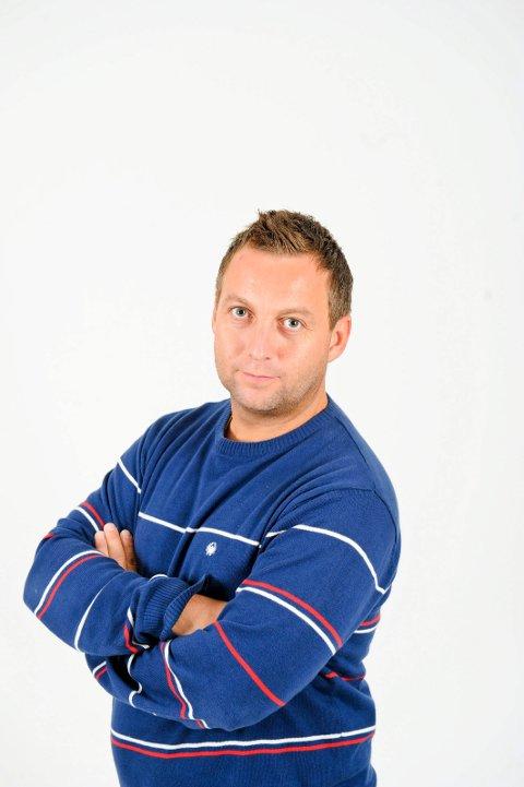 Stian Høgland journalist i Avisa Nordland.