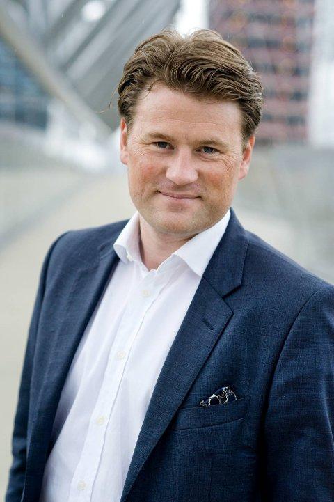 Are Andenæs Huser, administrerende direktør i Norges Takseringsforbund