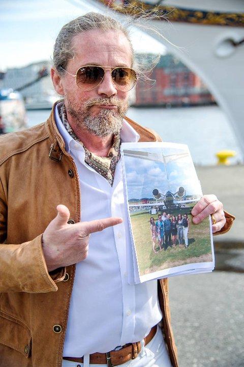 Briten Quentin Smith gikk bredt ut i norsk presse etter ulykken.