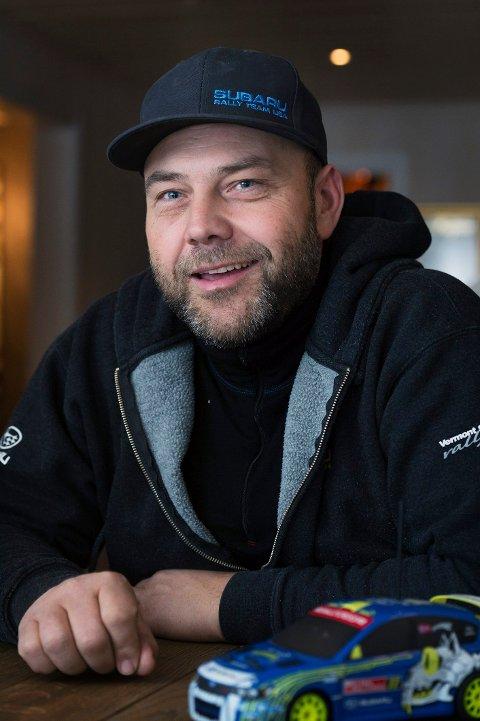 LEGGER OPP?: Det er usikkert om Sverre Isachsen skal satse videre på rallycross.