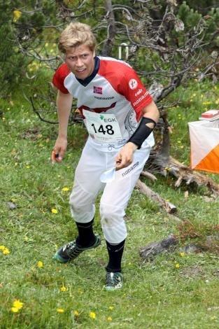 RUTINERT: Audun heimdal reiser til junior-VM i Finland med mye erfaring fra tidligere mesterskap.