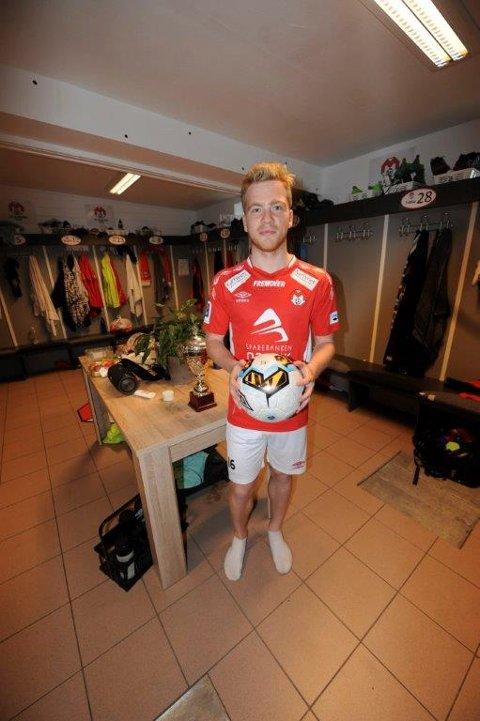 Jonas Simonsen skal spille for Norge.