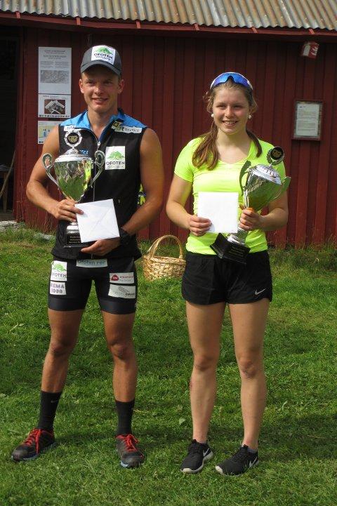 I fjor var det Ida Tovås fra Fjell Skilag og Vegard Johnsen fra Ankenes Skiklubb som var de aller raskeste til toppen.