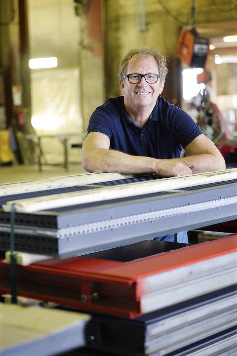 RAMMET: Som mange andre er Atlas Industri og Ragnar Sæther rammet av koronautbruddet.  Konkursen hos konkurrenten Rapp Bomek fører til flere henvendelser.