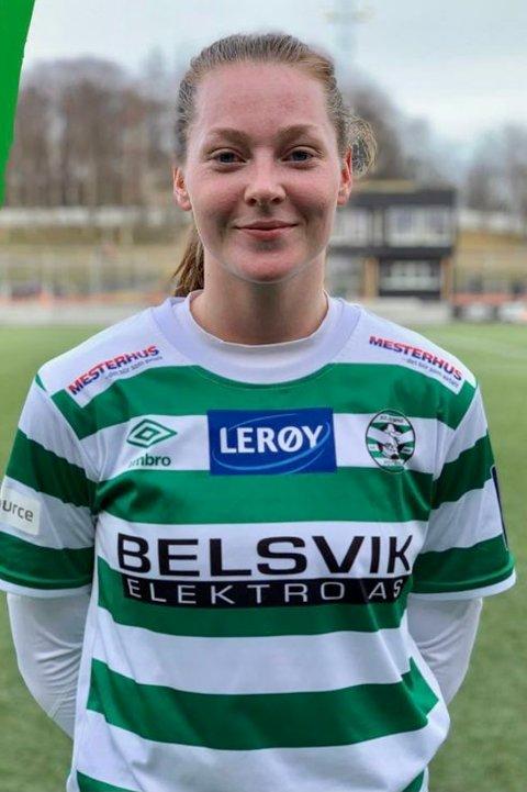 TAPTE: Anna Sagmo Melhus og lagkameratene i KIL/Hemne tapte lørdagens kamp mot Amazon Grimstad i 1. divisjon.