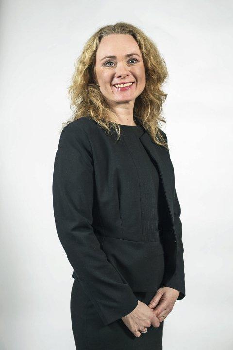 MÅ SVARE: Anniken Hauglie.Foto: Thomas Haugersveen