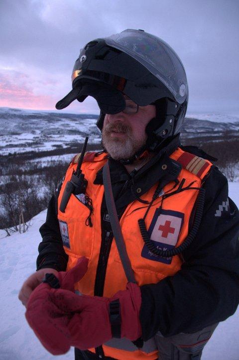 NESTLEDER: Jan Arvid Aamo har vært medlem i Os Røde Kors i 30 år, hvorav de sju -åtte siste årene som nestleder.
