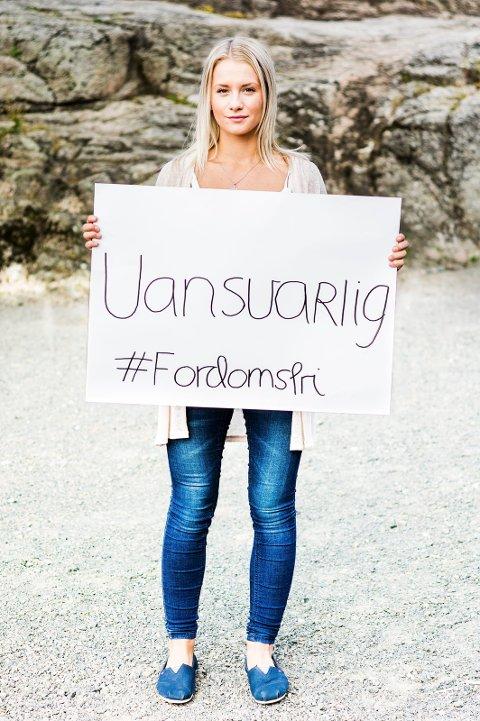 UNG: Kristina Torgersen har blitt kalt uansvarlig. Hun ble gravid 13 år gammel.