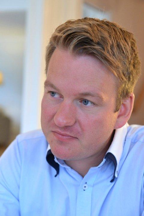 VIKTIG: - Svært viktig for regionen at HSN når målet om å bli universitet, sier Anders Tyvand.