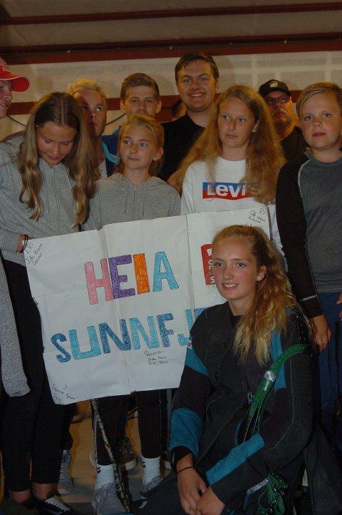 NUMMER 21: Sunnfjord vart nummer 21 i samlagsskytinga for rekrutt og junior.