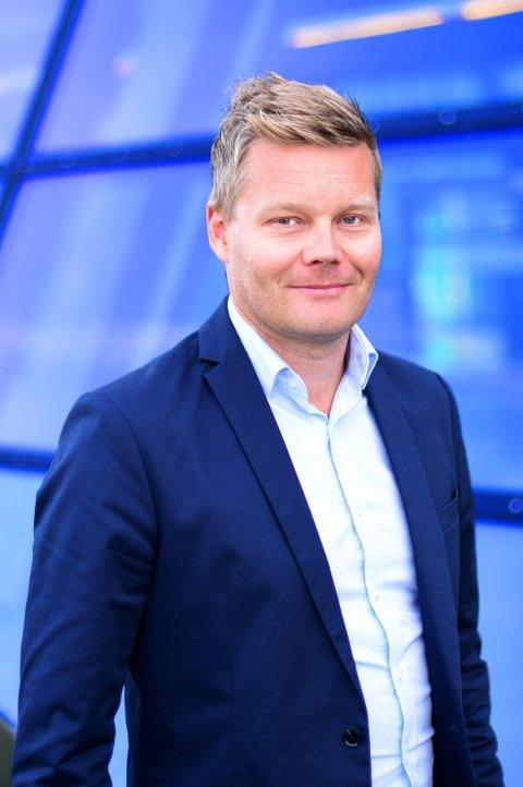 Telenors informasjonssjef for bredbånd, Tormod Sandstø