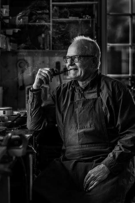 PORTRETT: Bjørn Tore Stokkes portrett av Lars Jacob Hvinden er blant ti utvalgte bilder i World Photographic Cup. Foto: Bjørn Tore Stokke