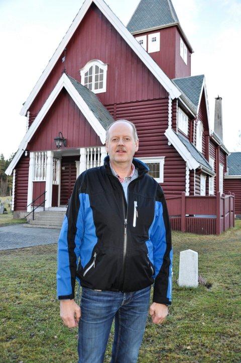 DUGNAD: Odd Ragnar Bredviken håper det kommer mange på dugnad. Arkivfoto