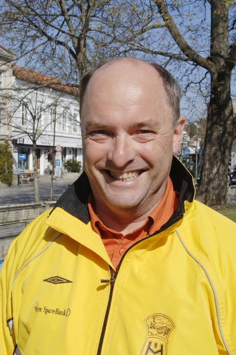 Ottar Kvitnes, leder i arrangementsutvalget i HIL