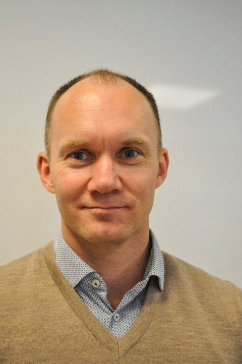 RYDDER OPP: Kommunalsjef Ulf Ellingsen i Halden kommune. Arkiv.