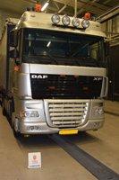 NEDERLANDSK: Lastebilen som fraktet narkotikaen var fra Nederland.