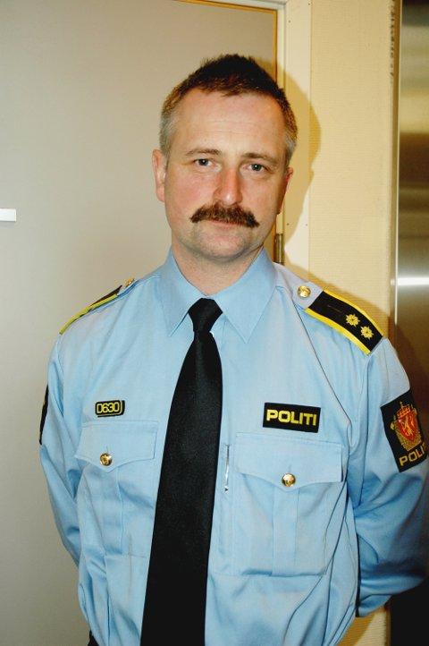 GREI PÅSKE: Overbetjent Dag Harald Drevsjø på Manglerud politistasjon. Arkivfoto: Nina Schyberg Olsen