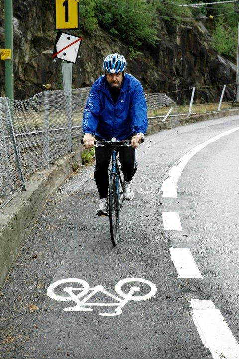 FRONTET TUNNEL: Allerede i 2009 spilte Arve Edvardsen og Nordstrand Høyre inn et forslag om å legge Ekebergbanen i tunnel. Arkivfoto