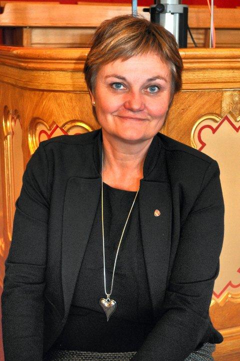 SPØR: Rigmor Aasrud (Ap). ARKIVBILDE