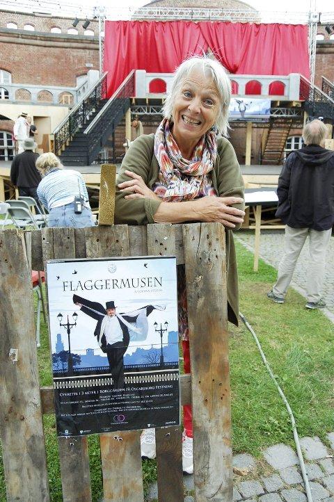 FORNØYD: Anne Felberg, operasjef for Oscarsborgoperaen.