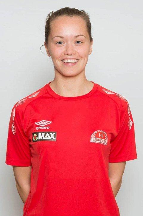 Ingrid Altermark er med i toppstriden i Toppserien, men helgas poeng mot Lyn var nok to for lite.