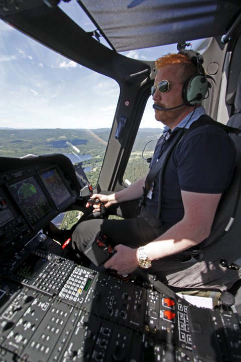 Pilot: Tor Magne Arnesen i flunk ny farkost.