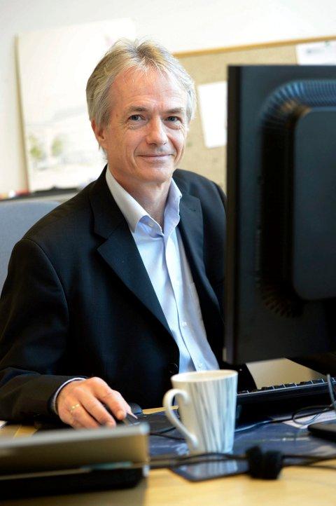 PROBLEMATISK: Rektor Harald Møller ved SVGS.