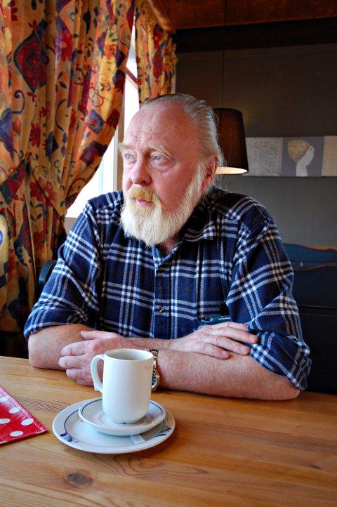 Forfatter Willy Ustad fyller 75 år søndag 16. mai.