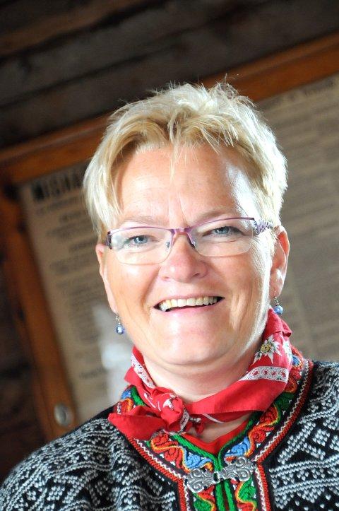 TAKKER ALLE: Laila Brøste på Bjorli takker alle som hjalp til, og alle som deltok.