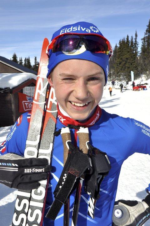NUMMER TRE: Torjus Aspesletten gikk inn til en tredjeplass.