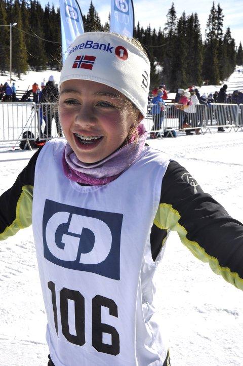 TREDJEPLASS: Åsne Oline Sletten, Tormod skilag.