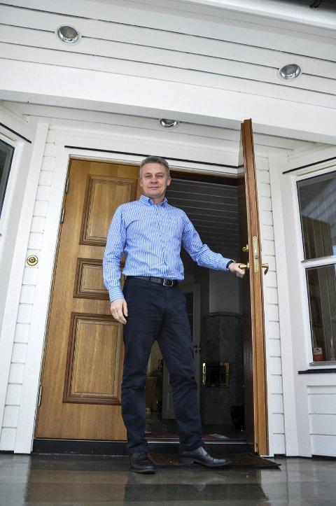 PENDLER FRA GRAN: Finn Martinsen er glad han og familien flyttet tilbake til Hadeland.