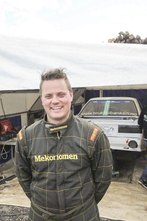SØlvgutten: I helgen vant Hans Jøran Østreng sølv under NM i bakkeløp. Foto: Trym Helbostad