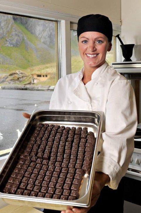 Jeanette Johansen har sammen med ektemannen vært på utkikk etter nytt sted for Lofoten sjokolade
