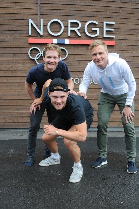 Sverre Lunde Pedersen og Håvard Bøkko lover å gi  Kristian Ulekleiv en dytt foran Gjøvik-guttens første sesong på landslaget.