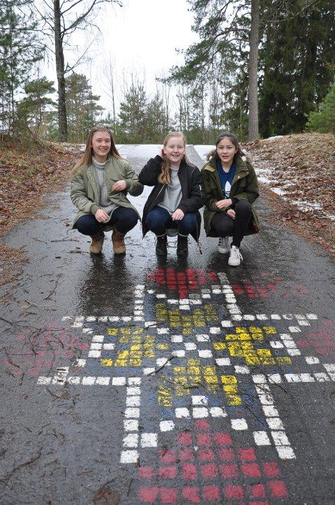 Jenny Krog, Julie Christensen og Alexandra Olsson.