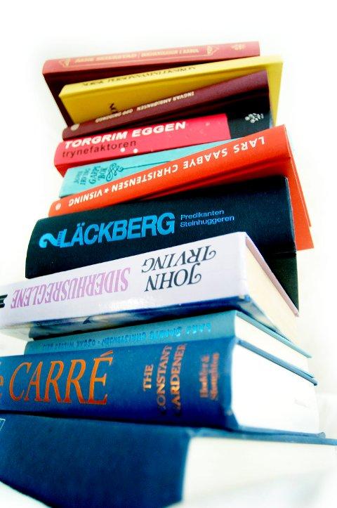 RIKTIG: Viktig å finne bøker som fanger interessen.