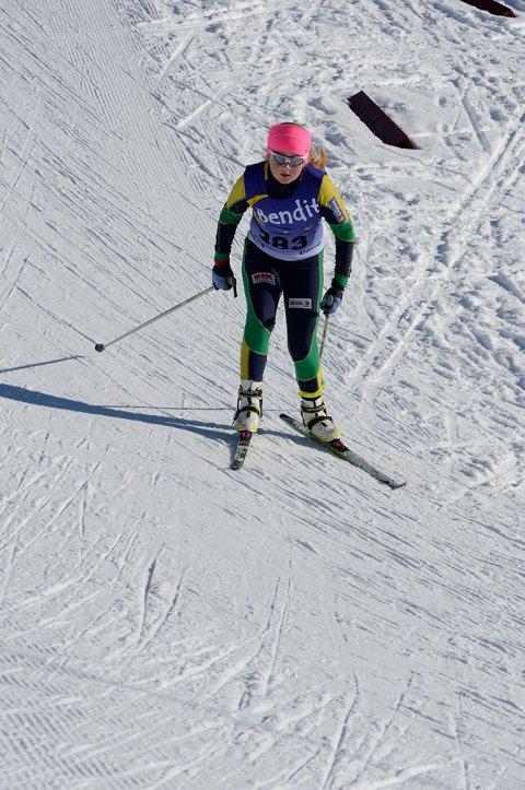 Andreplass: Vilde Marie Thon Christensen har hatt en god skiskyttersesong.
