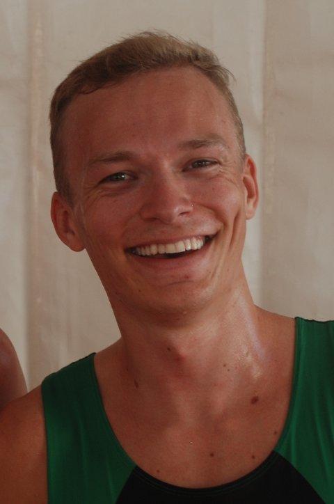 Debuterte: Markus Einan fra Sørumsand løp i EM torsdag.